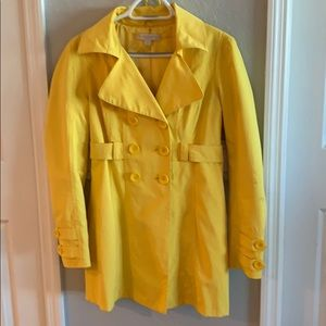Bright yellow Rain Jacket
